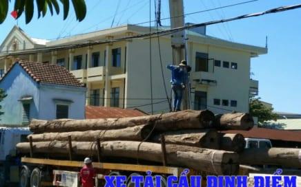Cho thuê xe cẩu tải tại khu công nghiệp Quảng Ngãi