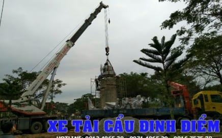 Công ty dịch vụ xe cẩu tải tại Quảng Ngãi