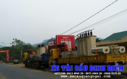 Dịch vụ xe cẩu tải hàng hóa tại Quảng Ngãi