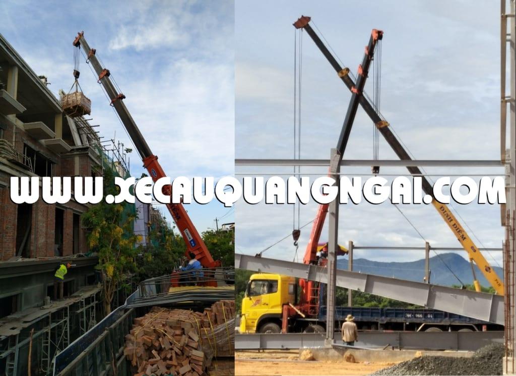 Công ty cho thuê xe cẩu tại Quảng Ngãi